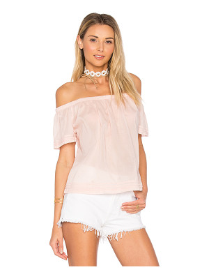 Bella Dahl Pintuck Off Shoulder Top