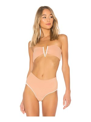 BETTINIS Deep V Bandeau Top