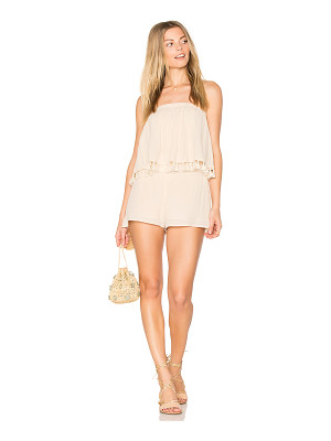 BLQ BASIQ Layered Romper With Tassels