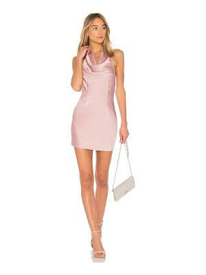 by the way. Stella Drape Satin Mini Dress