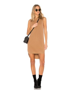 CALLAHAN Shaker Hi Low Mini Dress