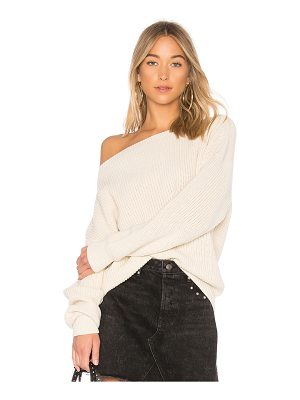Callahan Shaker Knit Off Shoulder Sweater