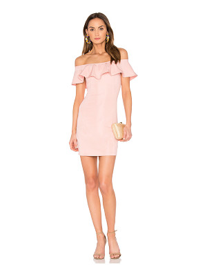 CAPULET X Revolve Eva Off The Shoulder Mini Dress In