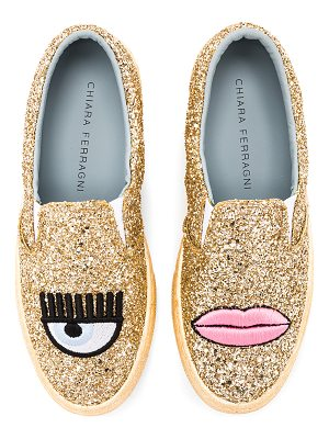 CHIARA FERRAGNI Logomania Slip On