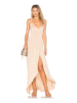Clayton Dita Wrap Maxi Dress