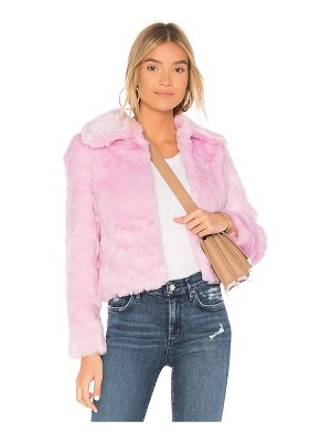 EAVES x REVOLVE Ryder Faux Fur Jacket