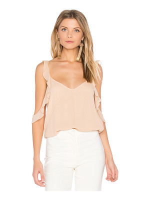 ELIZABETH AND JAMES Cheryl Ruffle Tank