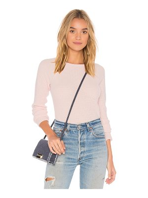 Elizabeth and James Karina Cashmere Waffle Sweater