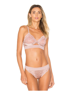 else Lilly Silk & Lace Triangle Soft Cup Cut Out Bra
