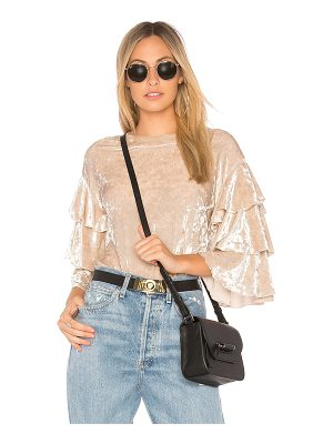 Endless Rose Crushed Velvet Top