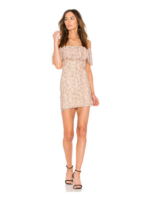 ENDLESS ROSE Lace Off The Shoulder Dress