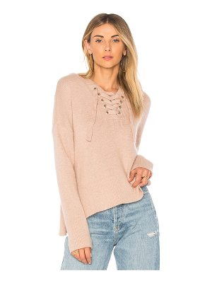 Endless Rose lace up sweater