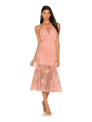 ENDLESS ROSE Mermaid Fit Lace Dress