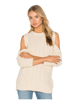 Endless Rose Open Shoulder Sweater