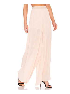 ENDLESS ROSE Pleated Palazzo Pants