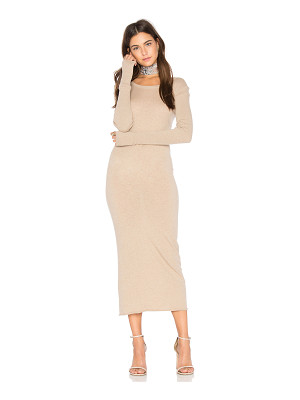 ENZA COSTA X Revolve Cashmere Long Sleeve Crew Dress