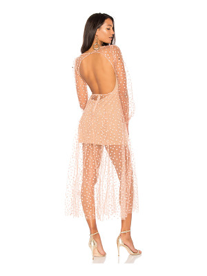 FOR LOVE & LEMONS All That Glitters Maxi