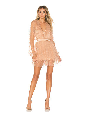 FOR LOVE & LEMONS All That Glitters Mini Dress