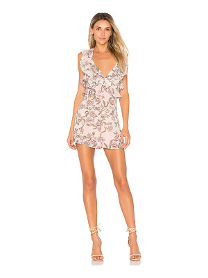 FOR LOVE & LEMONS Bee Balm Floral Romper
