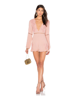 For Love & Lemons Lilou Floral Romper