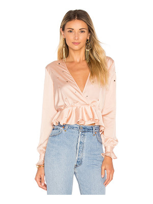 For Love & Lemons Twinkle Long Sleeve Blouse