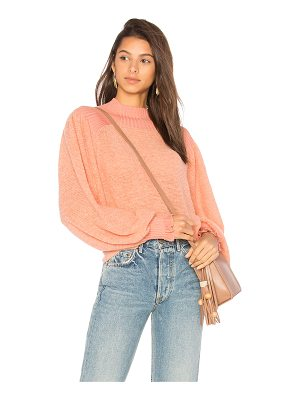 FREE PEOPLE Elderflower Pullover Sweater