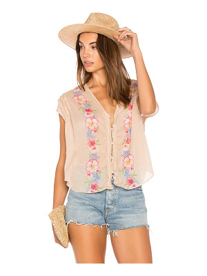 FREE PEOPLE Gardenia Top