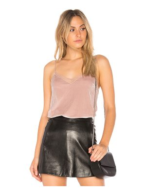 FREE PEOPLE Velvet Solid Tank