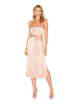 Halston Heritage Double Strap Slip Dress