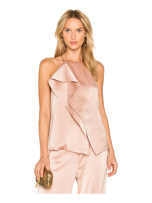 HALSTON Draped Top