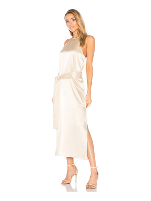 Halston Heritage Racer Slip Dress