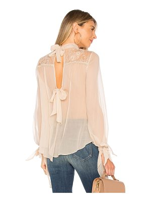 HAUTE HIPPIE The Lace Garden Top