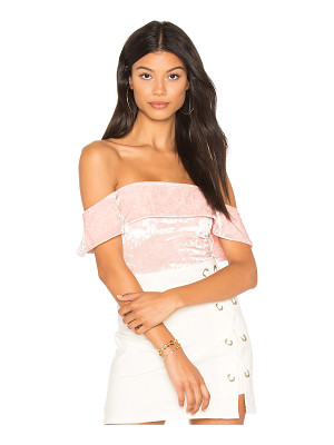 H:OURS Off Shoulder Cheeky Bodysuit