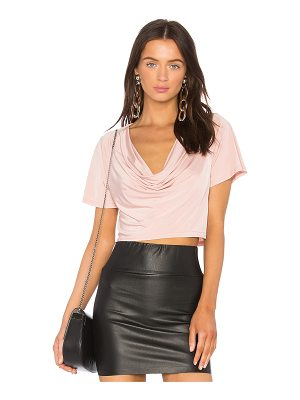 H:OURS X Revolve Elias Crop Tee