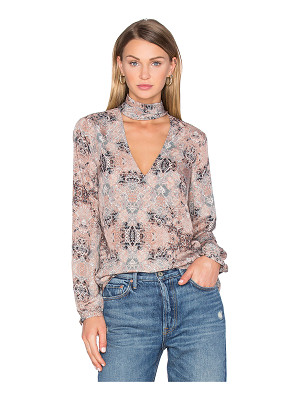 HOUSE OF HARLOW 1960 X Revolve Naomi Tie Neck Blouse