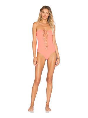 Indah Pip Lace Up One Piece