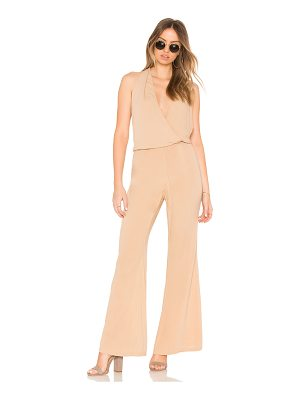 Indah Smoke Cross Front Jumpsuit