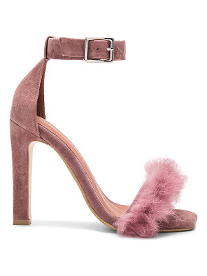 JEFFREY CAMPBELL Obus Ft Heels With Rabbit Fur