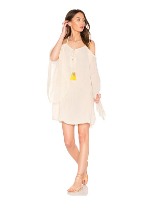 JEN'S PIRATE BOOTY Tassel Wildlife Drop Back Mini Dress