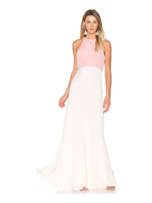 JILL JILL STUART Two Tone Gown