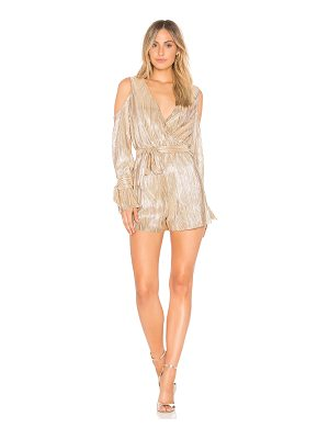 J.O.A. Cold Shoulder Romper