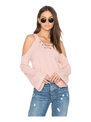 J.O.A. Cut Out Shoulder Top