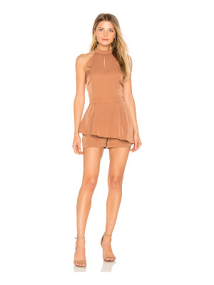 J.O.A. Halter Neck Cut Out Romper