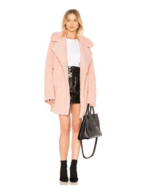 J.O.A. Reversible Shearling Coat