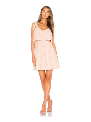 J.O.A. Ribbon Tie Flare Dress