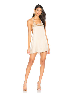 JOAH BROWN Silk T Back Dress