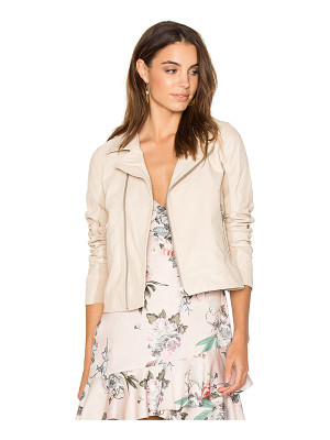 June Fitted Moto Jacket
