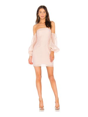 KEEPSAKE Call Me Off The Shoulder Dress