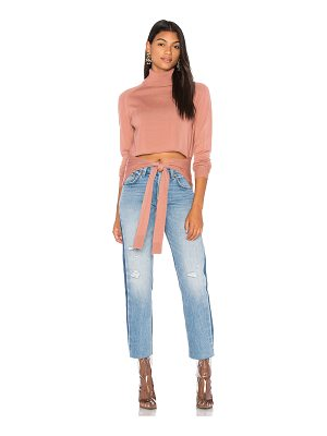 KENDALL + KYLIE Tie Front Sweater