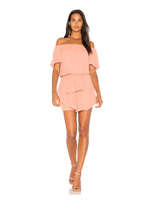 krisa Layered Off Shoulder Dress